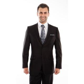 Men's Suits Set Slim Fit Formal Notch Lapel Casual 2 Piece Suit Set
