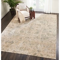 Nourison Lucent Distressed Pearl Area Rug - 8'6 x 11'6