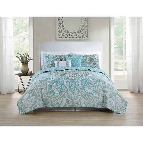 VCNY Home Tory 5-piece Quilt Set