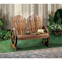 Olmstead Wooden Country-Style Wagon Two Seater