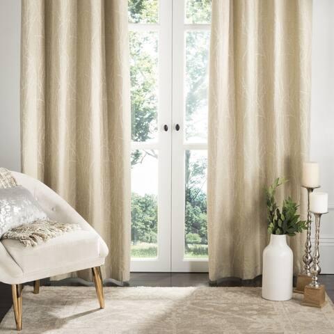 "Safavieh Veria 84 Inch Single Curtain Panel - 84"" L x 52"" W"