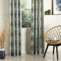 Shop Exclusive Fabrics Soliel Yellow Grey Damask Blackout