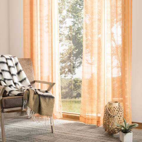 """Safavieh Dafni 52x84 Single Curtain Panel - 84"""" L x 52"""" W"""