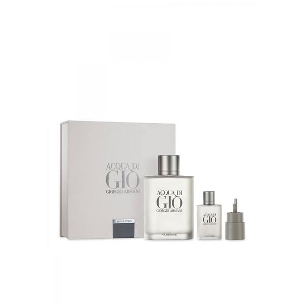 0deb30656381 Shop Giorgio Armani Acqua di Gio Pour Homme Men s 3-piece Gift Set - Free  Shipping Today - Overstock - 20114372