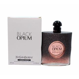 Yves Saint Laurent Black Opium Floral Shock Women's 3-ounce Eau de Parfum Spray (Tester)