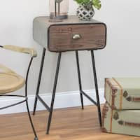 Mason Accent Table with Drawer