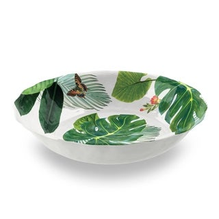 Amazon Floral Serve Bowl