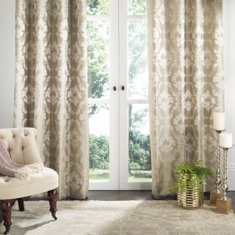 "Safavieh Perama 84-inch Single Curtain Panel - 84"" L x 52"" W"