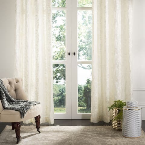 "Safavieh Lerapetra 52x84 Single Curtain Panel - 84"" L x 52"" W"