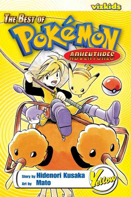 Best of Pokemon Adventures: Yellow (Paperback)