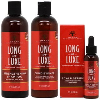 As I Am Long & Luxe Strengthening Hair Care 3-piece Set