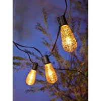 Living Accents  Edison Mercury  Light Set  Clear  9 ft. L