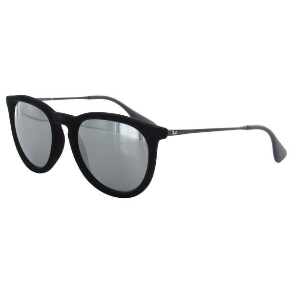 9eb5efdd0d3 Ray-Ban Erika Oversized RB4171 Mens Black Frame Grey Lens Sunglasses