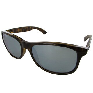 Ray-Ban Andy RB4202 Womens Brown Frame Silver Lens Sunglasses