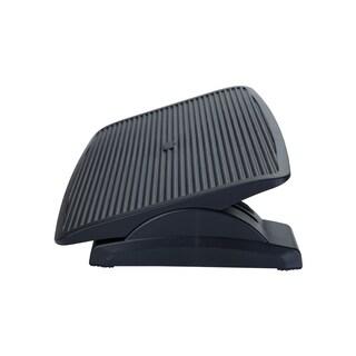 Mind Reader Comfy Adjustable Height Ergonomic Foot Rest