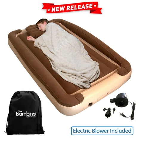 Inflatable Toddler Bed with Inflatable Rails