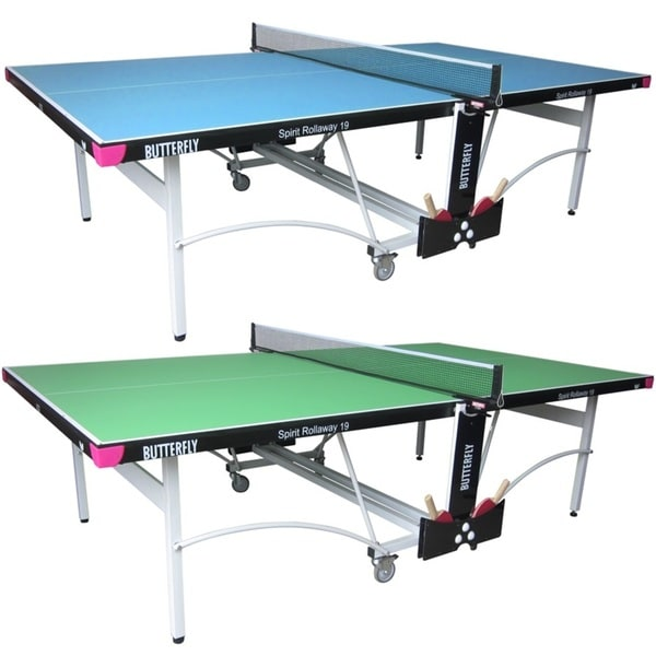 Charmant Butterfly Spirit 19 Table Tennis Ping Pong Table With Net Set   3 Year  Warranty