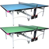 Butterfly Spirit 19 Table Tennis Ping Pong Table with Net Set - 3 Year Warranty - 10 Minute Assembly - Accessory Holder