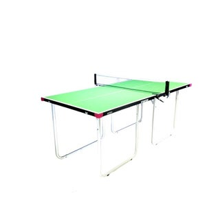 Butterfly Starter Table Tennis Table with Net Set - Fully Assembled Mini Ping Pong Table with 3 Year Warranty