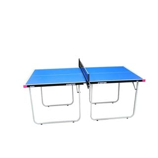 Butterfly Starter Table Tennis Table with Net Set - Fully Assembled Mini Ping Pong Table with  sc 1 st  Overstock & Butterfly Junior 3/4 Size Table Tennis Table - 3 Year Warranty ...