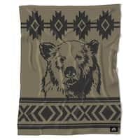 Rocky Mtn Sherpa Fleece Blanket