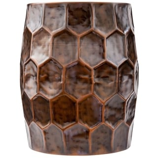 Poly and Bark Delano Honeycomb Accent Table