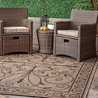 Gracewood Hollow Charles Outdoor/Indoor Area Rug