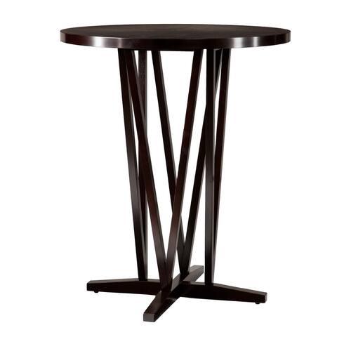 Strick & Bolton Peyton Espresso Bar Table