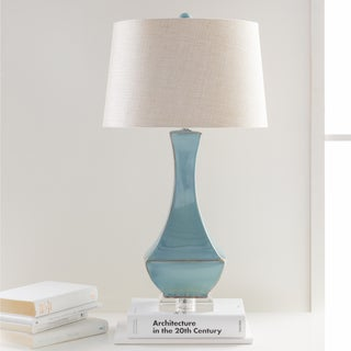 The Curated Nomad Enclave Glazed Table Lamp