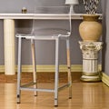 Pure Decor Clear Acrylic Counter Stool