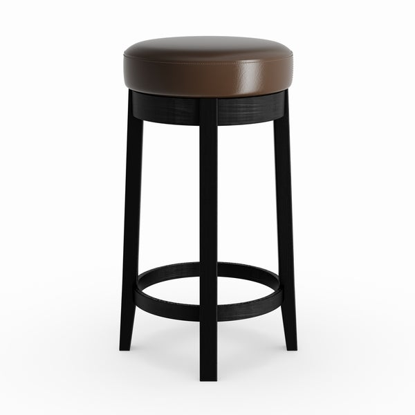Oliver James Ronnie Swivel 30 Inch Barstool