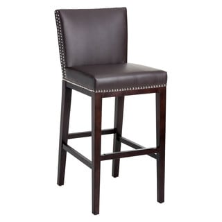 Oliver & James Grayson Bonded Leather 30-inch Barstool