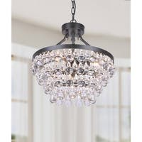 Oliver & James Opalka Antique Crystal Chandelier