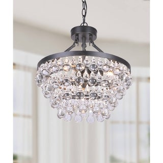 Silver Orchid Taylor Antique Crystal Chandelier