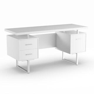 Oliver & James Joffe White Metal Office Desk