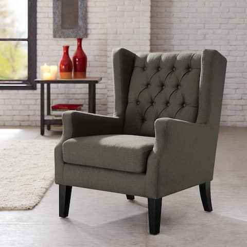Porch & Den Cowen Wingback Arm Chair