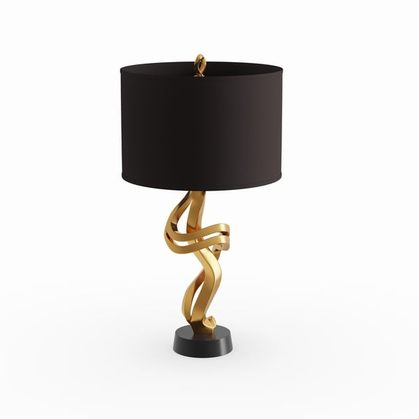 Oliver & James Agnes Gold Table Lamp