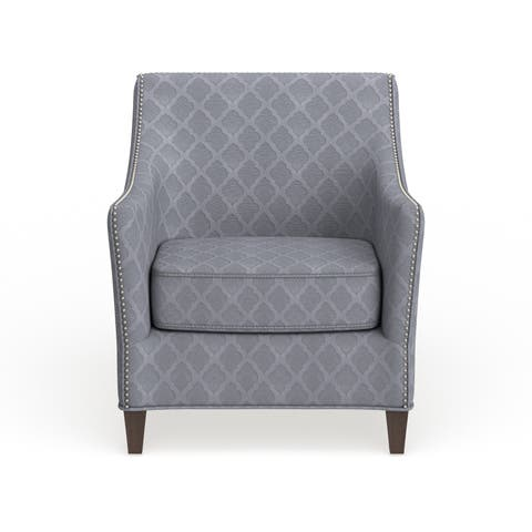 The Curated Nomad Opuntia Orange Accent Chair