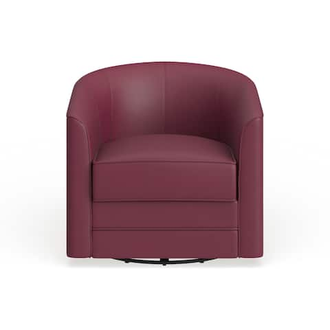 Strick & Bolton Sigmar Bonded Leather Accent Chair