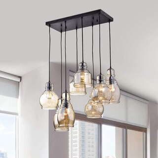 Strick & Bolton Yinka Antique Glass Pendant Lights
