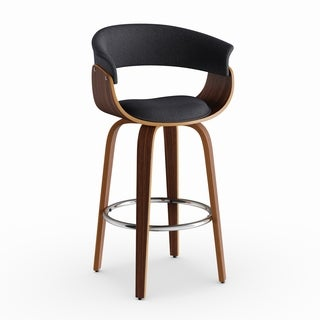 Strick & Bolton Gallagher Mid-century 26-inch Counter Stool