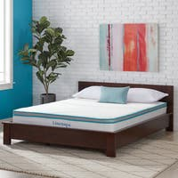 OSleep 8-inch California King-size Memory Foam and Spring Mattress