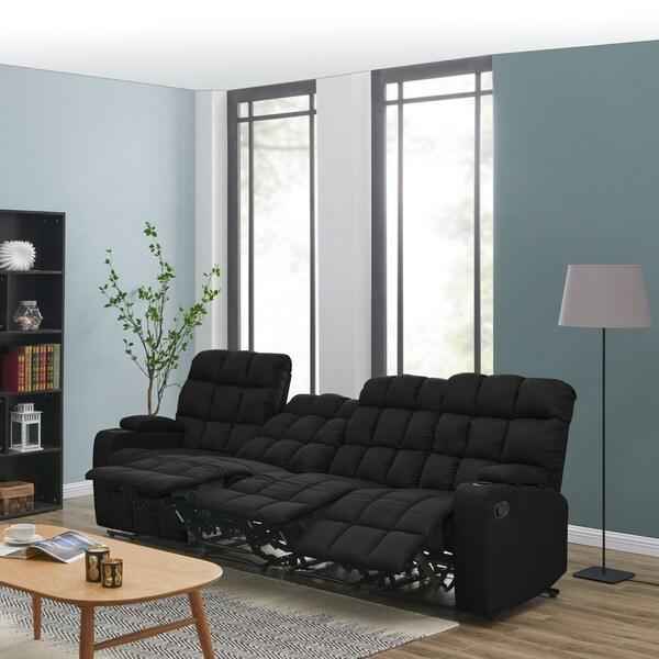 Shop Copper Grove Bielefeld Grey Microfiber 3 Seat