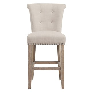 Link to The Gray Barn Mustang Beige Fabric Counter Stool (Set of 2) Similar Items in Dining Room & Bar Furniture