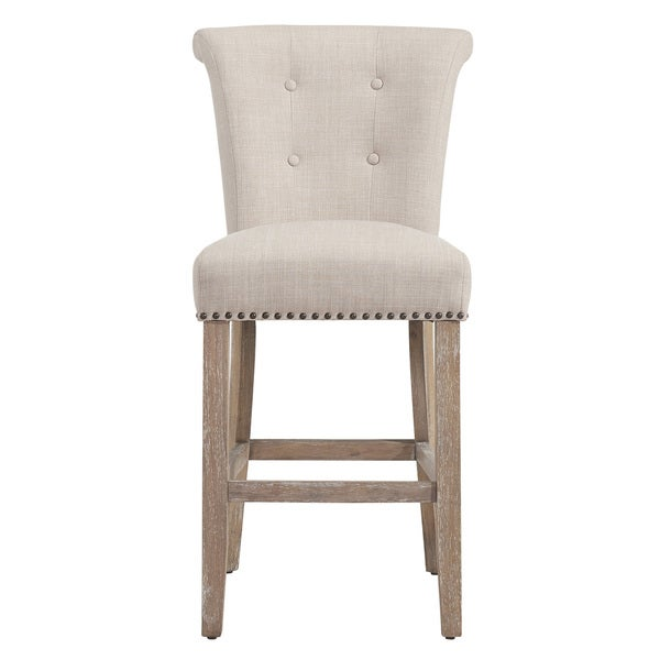 The Gray Barn Mustang Beige Fabric Counter Stool (Set of 2). Opens flyout.