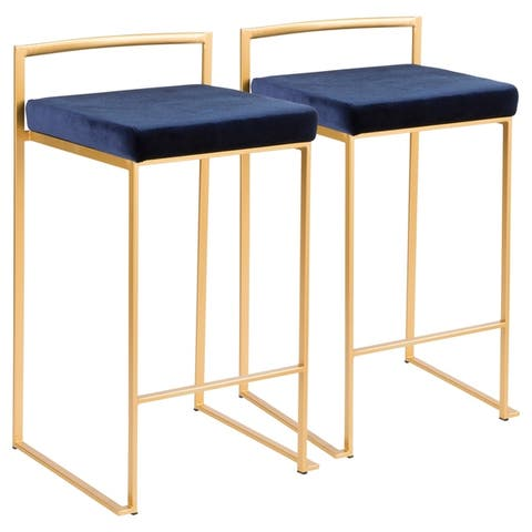 Buy Blue Fabric Counter Amp Bar Stools Online At Overstock