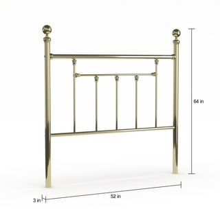 Copper Grove Aster Headboard - Full - with Rails