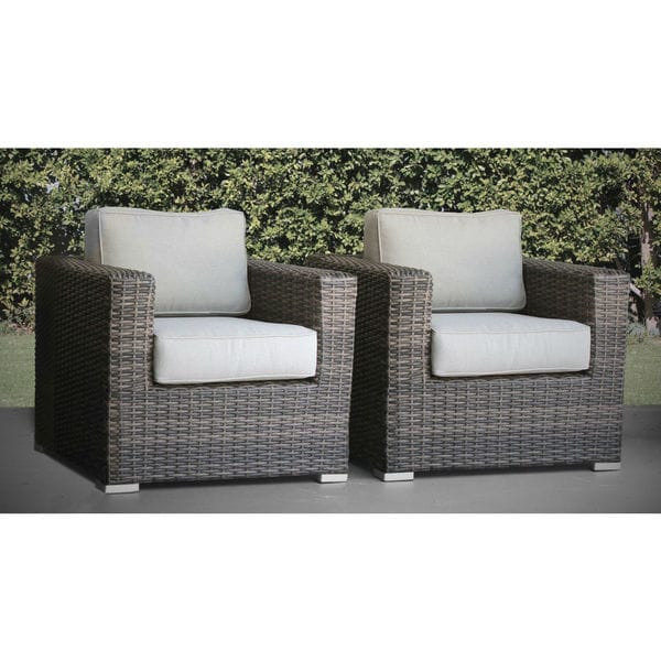 Whitmer Club Chair with Cushions Pair