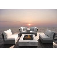Winsford Sectional Fire Pit Square Concrete