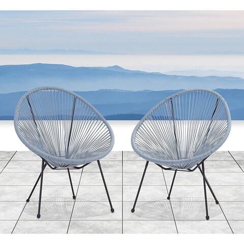 Acapulco Resort Grade Set of 2 Chairs (Blue-Grey)